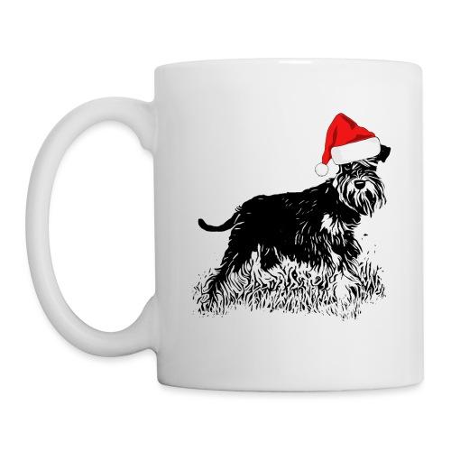 Weihnachten Zwergschnauzer Hund Schnauzer Geschenk - Tasse