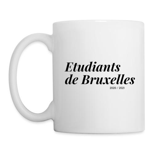 Etudiants de Bruxelles Noir - Mug blanc