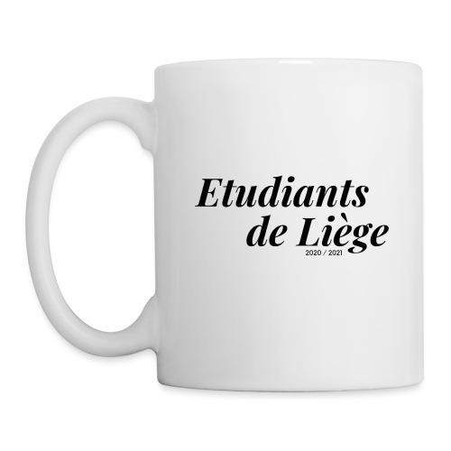 Etudiants de Liège Noir - Mug blanc