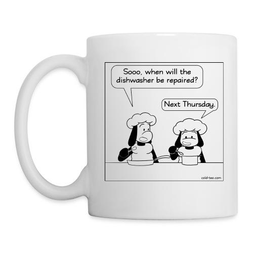 dirty dishes - Mug