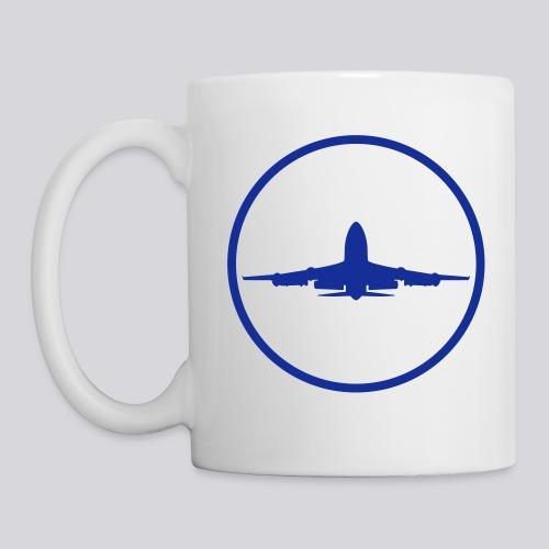 IVAO (symbole bleu) - Mug blanc