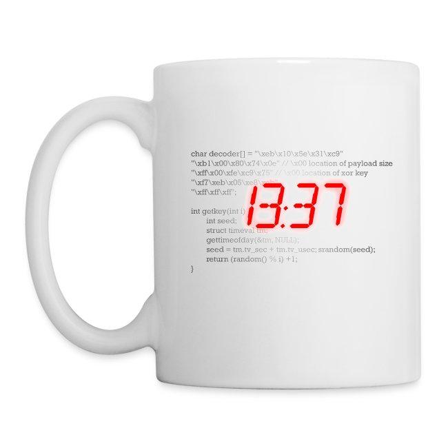 1337 kaffeetasse