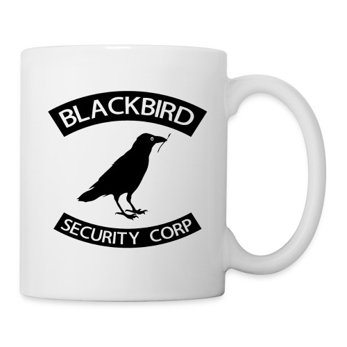 blackbird final - Mug blanc
