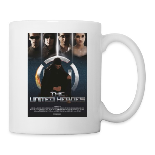 affiche United Heroes - Mug blanc