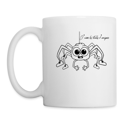 Spider Web Star - Mug blanc