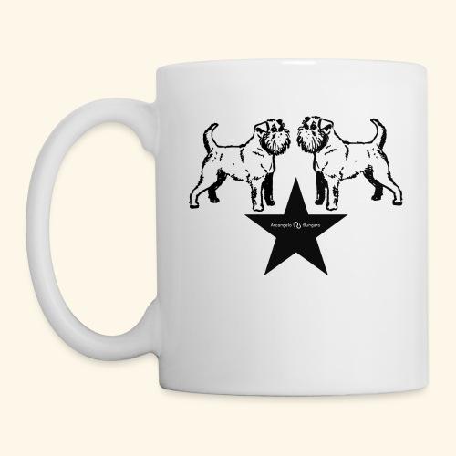 Brussels Griffon Logo - Mug blanc