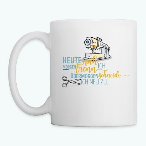 Nähen Schneidern Frauen Spruch Handarbeit - Tasse