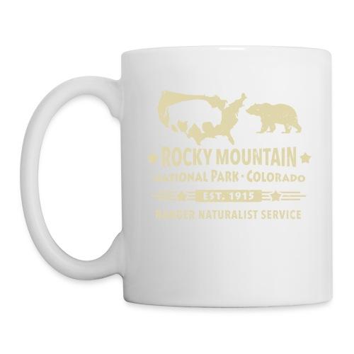 Rocky Mountain Nationalpark Berg Bison Grizzly Bär - Mug
