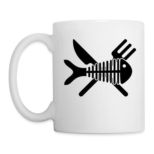 Poisson couvert - Mug blanc