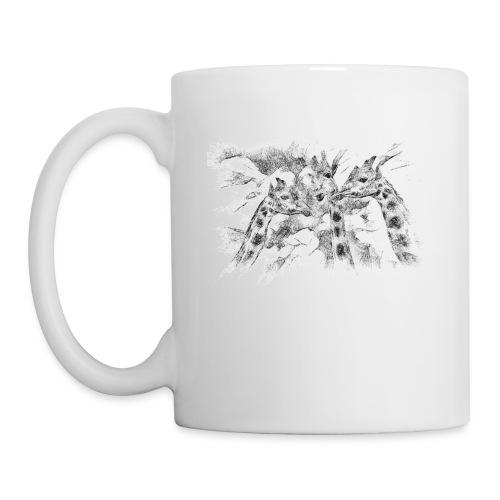 les girafes bavardes - Mug blanc