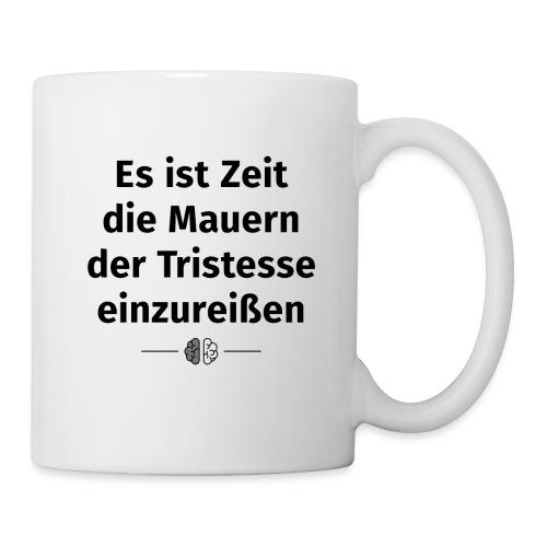 Tristesse Schwarz - Tasse
