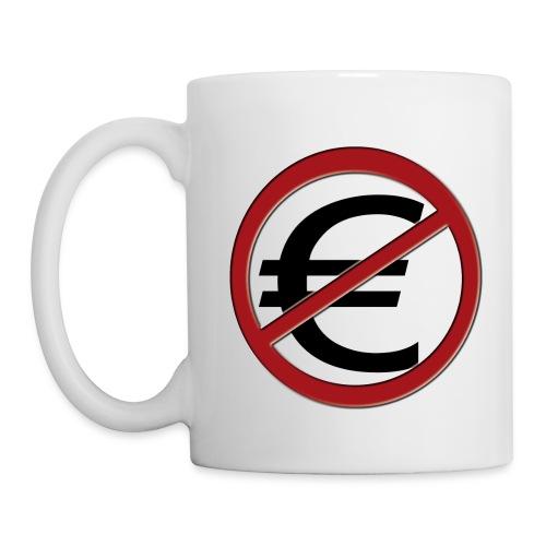 Non EURO - Mug blanc