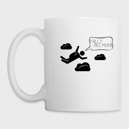Fällt bei mir - Tasse