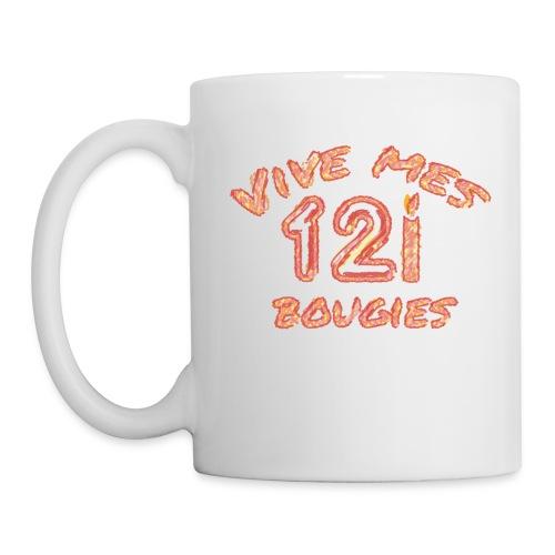 Vive mes 12 bougies - Mug blanc