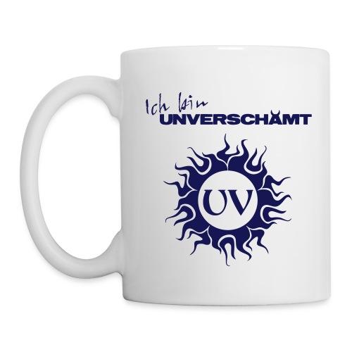 Ich bin UNVERSCHÄMT inkl Logo - Tasse