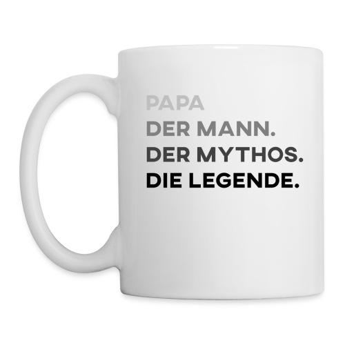 Papa Der Mann Der Mythos Die Legende - Vatertag - Tasse