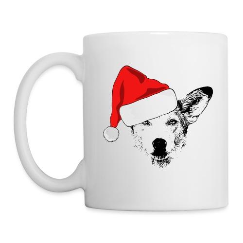 Weihnachten Podenco-Mix Hund Geschenk Podimix - Tasse