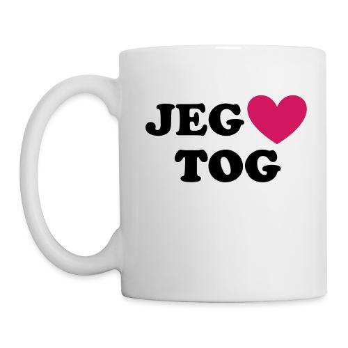 JEG ELSKER TOG - Kop/krus