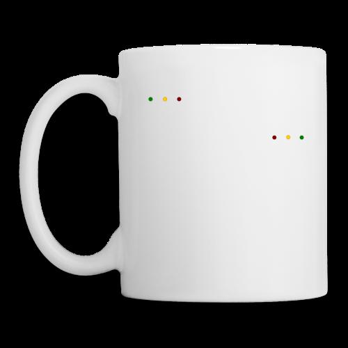 Rasta Chenille - Mug blanc