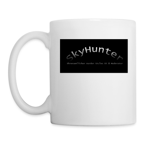 SkyHunter Logo Black - Tasse