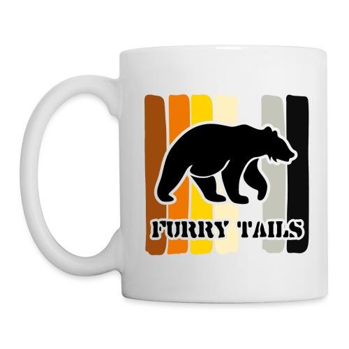 BEAR PAINT1 - Mug blanc