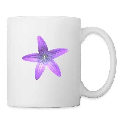 Purple flower - Taza