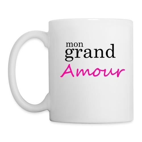 Mon grand amour - Mug blanc