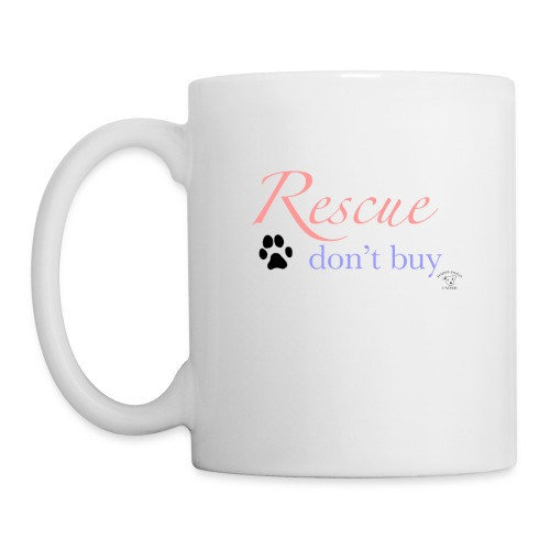 Rescue don't buy - Mug