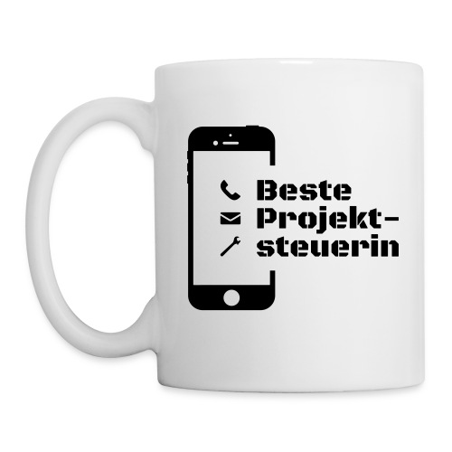 Beste Projektsteuerin - Tasse