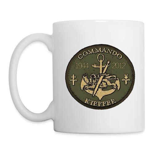 Commando kieffer POITRINE - Mug blanc
