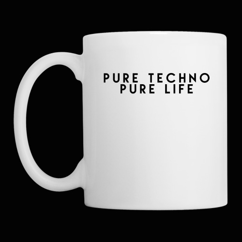 Pure Techno Pure Life Black - Tasse
