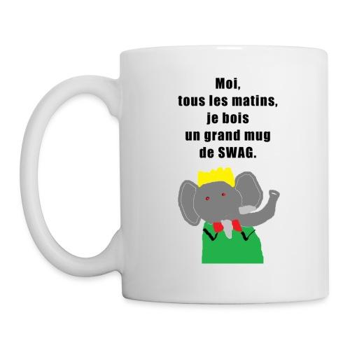 swag 2 png - Mug blanc