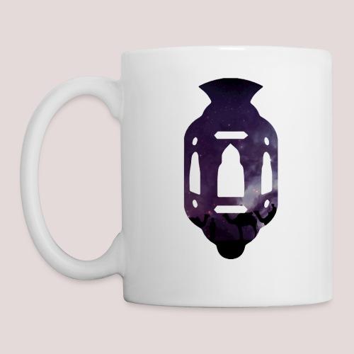 La Lanterne mauve - Mug blanc