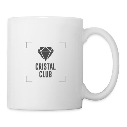 Logo Cristal Club Gris - Mug blanc