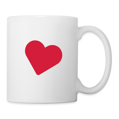 Deck of Cards heart - Mug