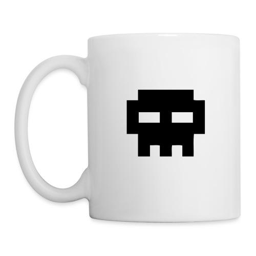 8 Bits Skull Pirate - Mug blanc