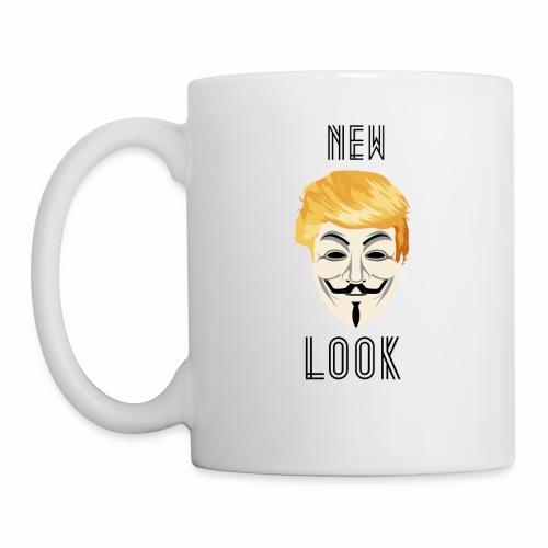 New Look Transparent /Anonymous Trump - Tazza