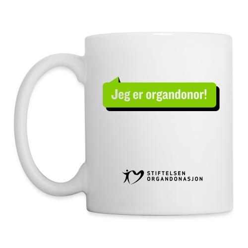 Jeg er organdonor - Kopp