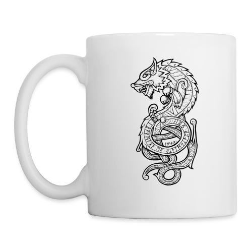 Le Loup Fenrir - Mug blanc