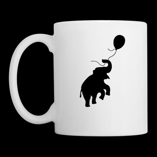Elefant mit Ballon - Tasse