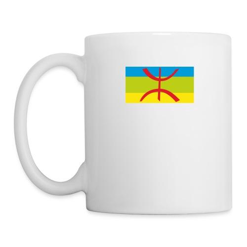 drapeau berbere tamazgha - Mug blanc