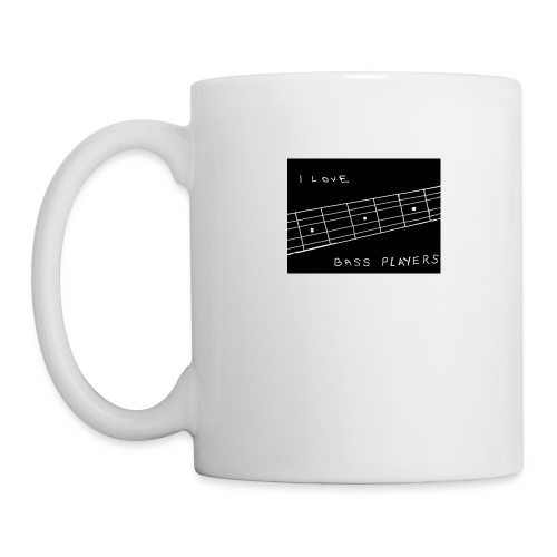 I Love Bass Players - Mug