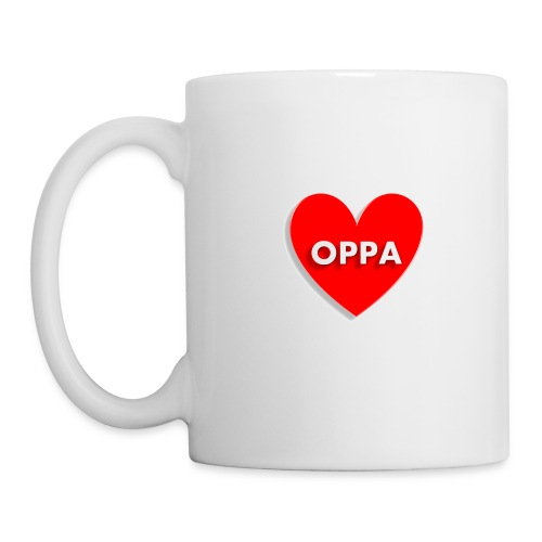 OPPA LOVE - Taza