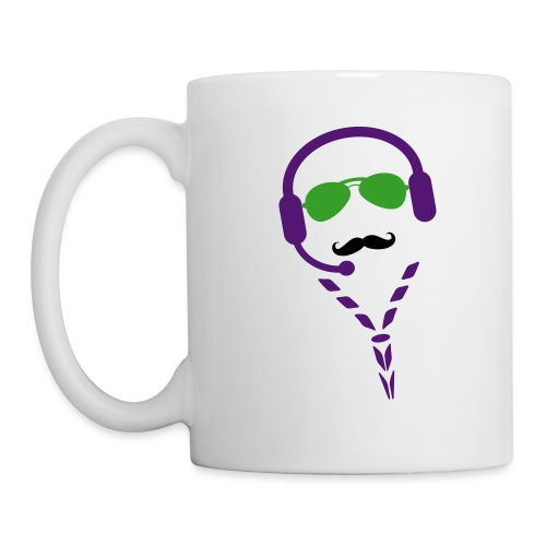 moustache radio - Mug