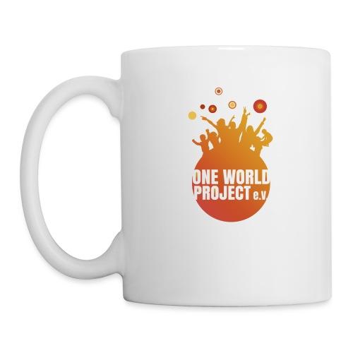 One World Project e. V. - Logo - Tasse