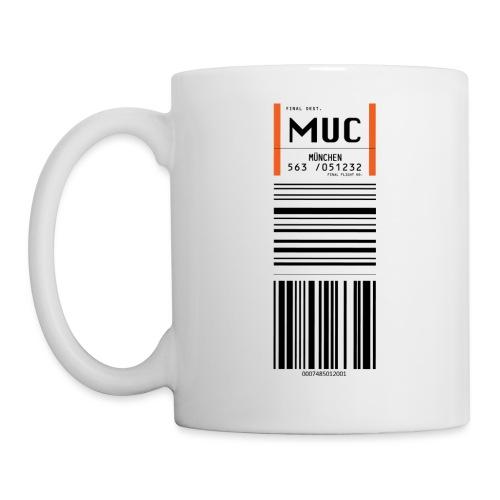 MUC- Flughafen München - Tasse