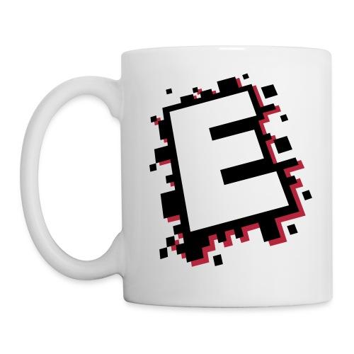 design_E_black_pink - Mug