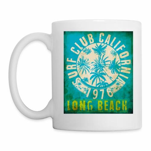 Long Beach Surf Club California 1976 Gift Idea - Mug