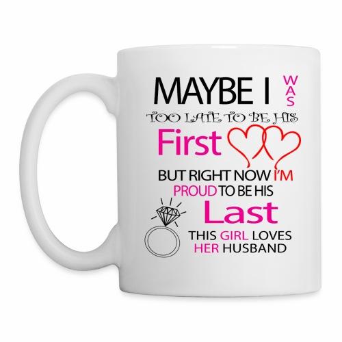I love my husband - gift idea - Mug