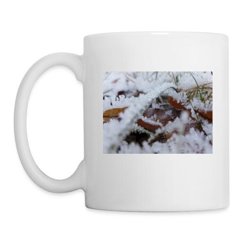 Schneekristalle - Tasse